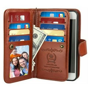 iPhone 6 Plus/iPhone 6S Plus Flip Folio Wallet